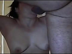Biggest throat creampie explosion