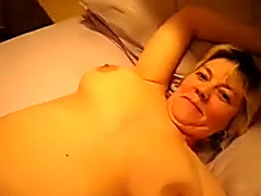 Tiny mature blonde wife is mad to blow my dick