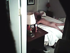 Fat wife bonks neighbour on hidden camera