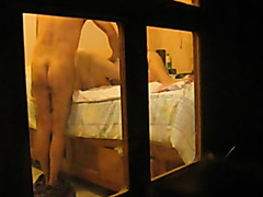 Hidden cam records sexual massage