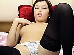 hot asian babe solo