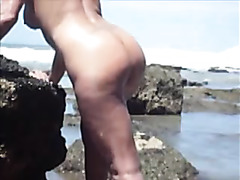 Watch us fuck outdoors on the beach