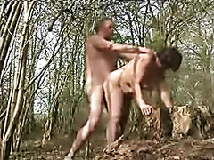 wife fucked outdoors