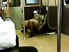 NY bbw on public transit 2 of 2
