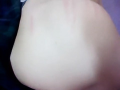 Hawt Korean Dilettante SM Tease Masturbation Fuck on Top