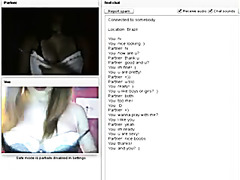 Lezzers masturbation on chatroulette