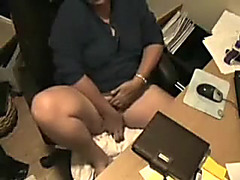 My insatiable crafty wife bonks her cunny on hidden web camera