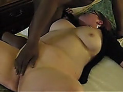 Overweight wife from Minnesota 1st BBC