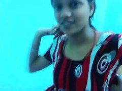 Sneha Punjabi College Cutie Exposing herself