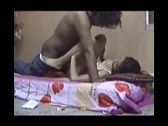 Indian beautiful lady making love