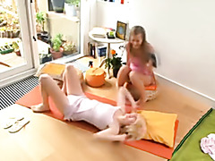 Doing yoga leads to a mindblowing orgasm.