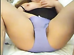 Chubby hairy wife masturbates nicely